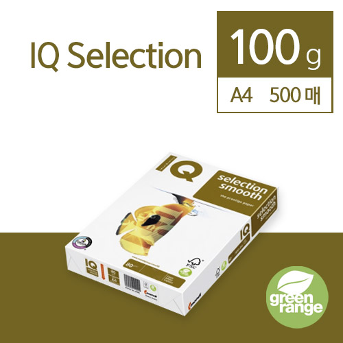 IQ Selection Smooth 100g A4 500매