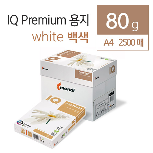 IQ Selection Premium 80g IQ A4 2500매