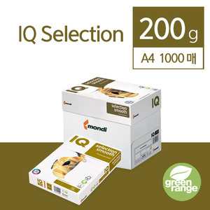 IQ Selection Smooth 200g A4 1000매