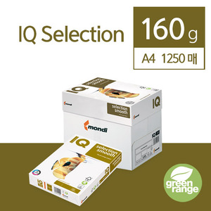 IQ Selection Smooth 160g A4 1250매