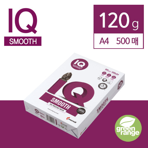 IQ Smooth 120g A4 500매