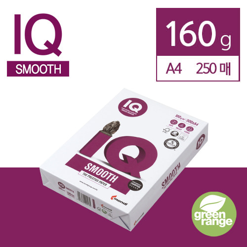 IQ Smooth 160g A4 250매